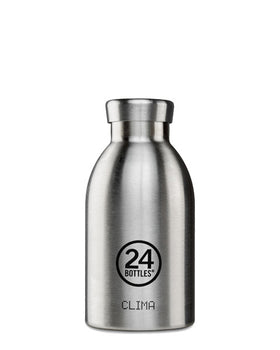 24 Clima Insulated Bottles - Steel