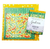 Everyday Pack - Set of 3 - Beeswax Wrap  by Good To Bee