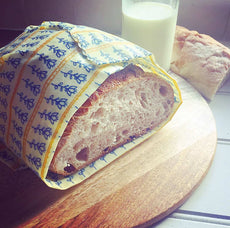 Bread / Vegetable Wraps - Beeswax Wrap  by Good To Bee