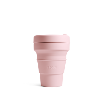 Stojo Collapsible Coffee Cup - Carnation