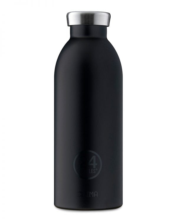 24 Clima Insulated Bottles - Tuxedo Black