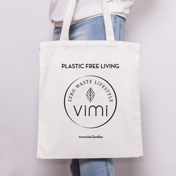 Vimi cotton Tote Bag