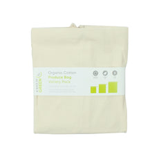 Organic Cotton Produce Bag -Set of 3