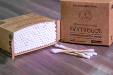 VimiBuds - Sustainable Cotton Swabs (200pcs)
