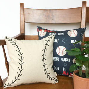 Playroom Pillow COMBO - Baseball