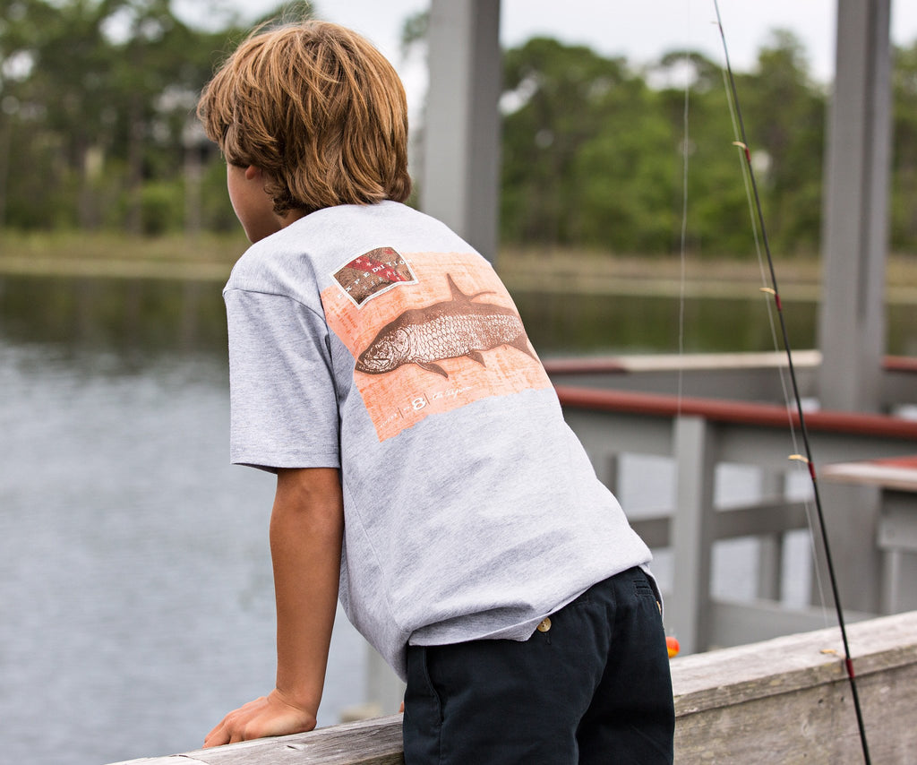 Youth Expedition Series Tee - Tarpon