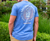 Oxford Blue | Branding Collection Tee | Anchor | Short Sleeve T-Shirt | Southern Marsh