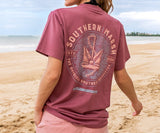 Wine | Branding Collection Tee | Anchor | Short Sleeve T-Shirt | Southern Marsh