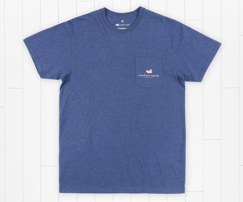 Washed Navy | Youth Branding Collection Tee | Summit | Youth Short Sleeve T-Shirt