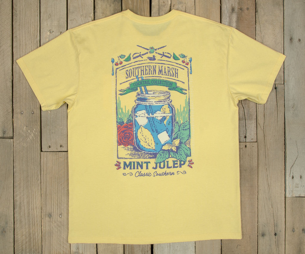 Cocktail Collection Tee - Mint Julep