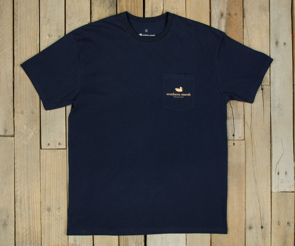 Cocktail Collection Tee - Hot Toddy | Navy - Front
