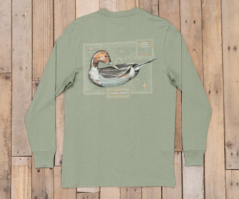Vintage Decoy Pintail Tee - Long Sleeve
