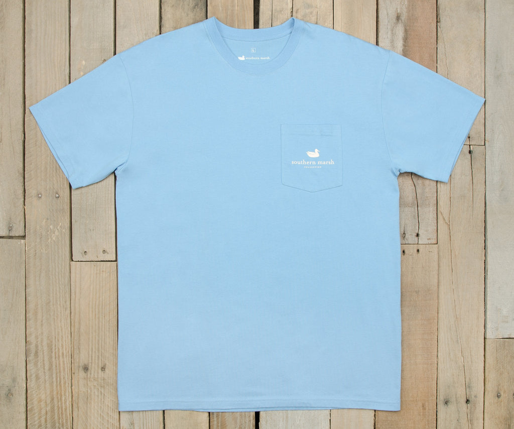 Gun Dog Collection Tee | Two | Breaker Blue | Front