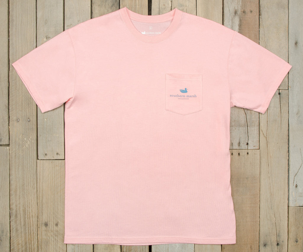 Gun Dog Collection Tee | Two | Camellia | Front