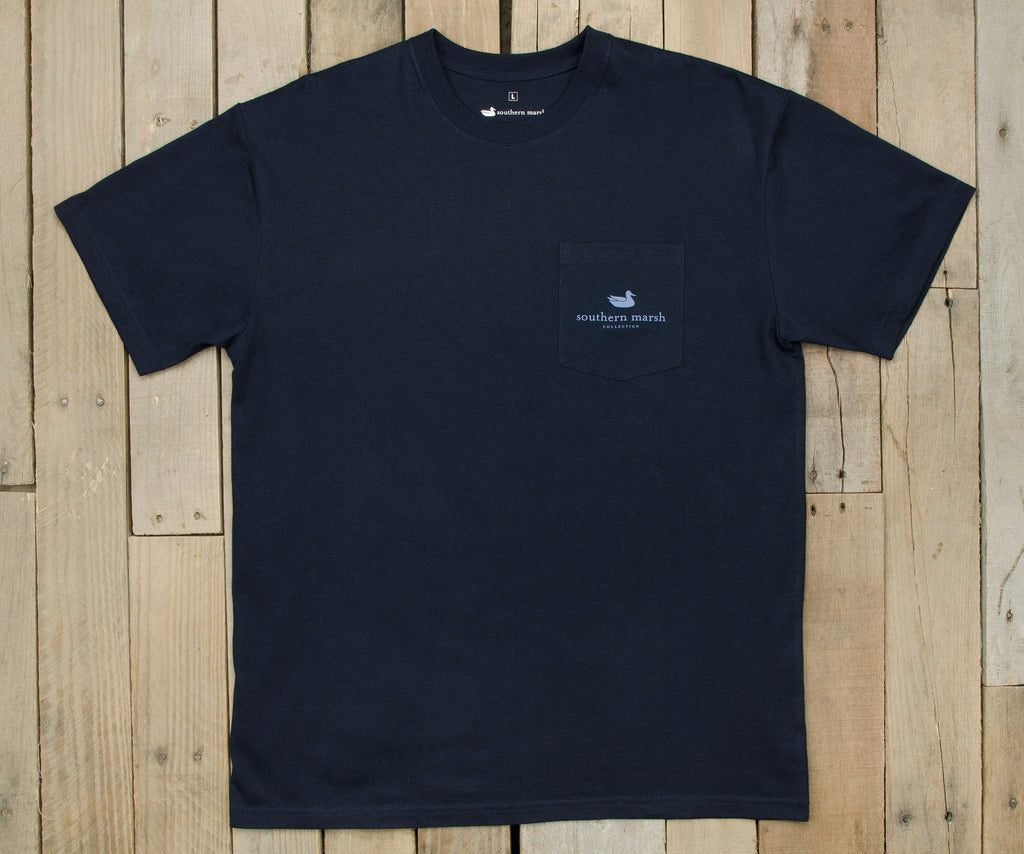 Gun Dog Collection Tee | Two | Navy | Front