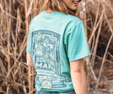 Washed Kelly Green | Genuine Tee | Duck Hunting