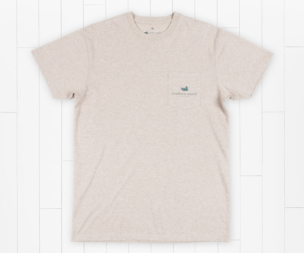 Washed Oatmeal | Genuine Tee | Duck Hunting | Front