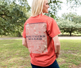 Washed Red Heather | Origins Elevation Tee | Lifestyle