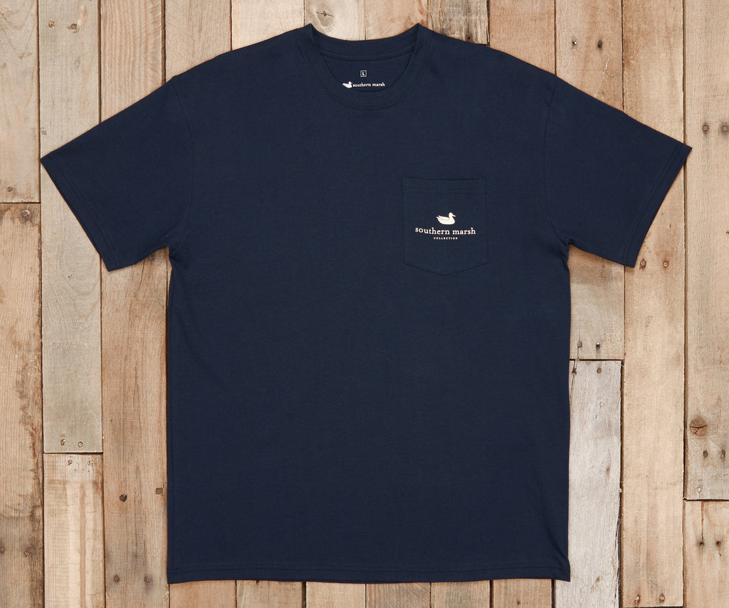 River Route Collection Tee - Louisiana & Mississippi