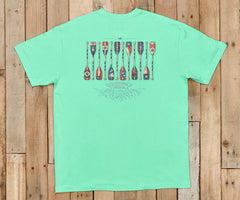 River Route Collection Tee - Paddles