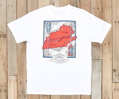 River Route Collection Tee - Tennessee & Kentucky