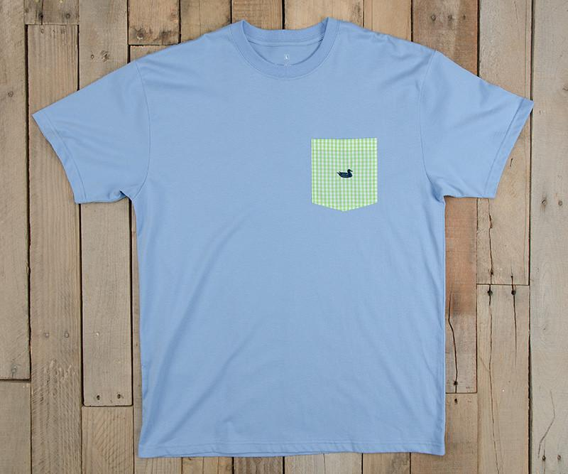 Stewart Pocket Tee - Gingham