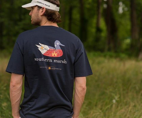 Authentic Heritage Tee - Louisiana