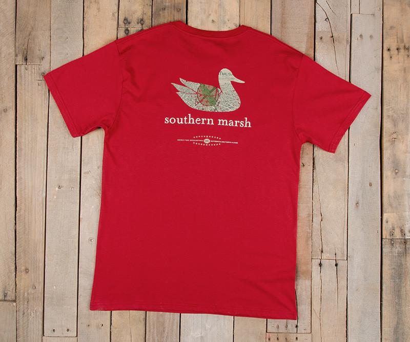 Southern marsh collection authentic heritage tee oklahoma for Southern marsh dress shirts on sale