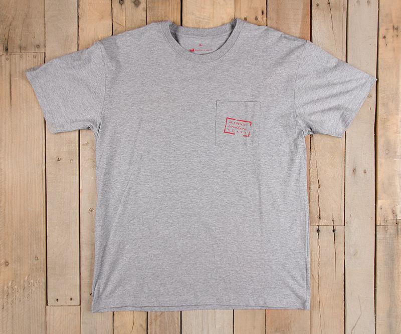 Authentic Flag Tee | Light Gray