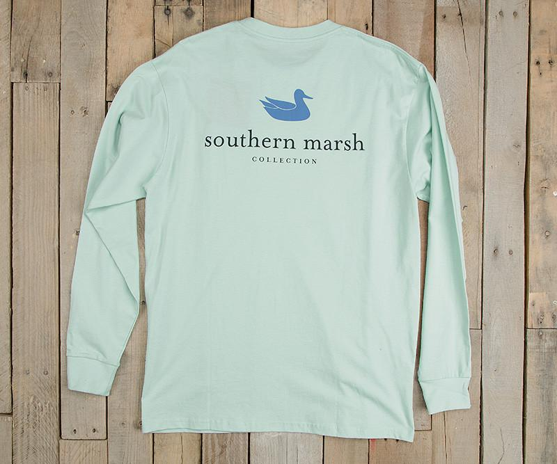 Ocean Green | Authentic Vibrant Tee | Long Sleeve T-Shirt | Southern Duck Shirt