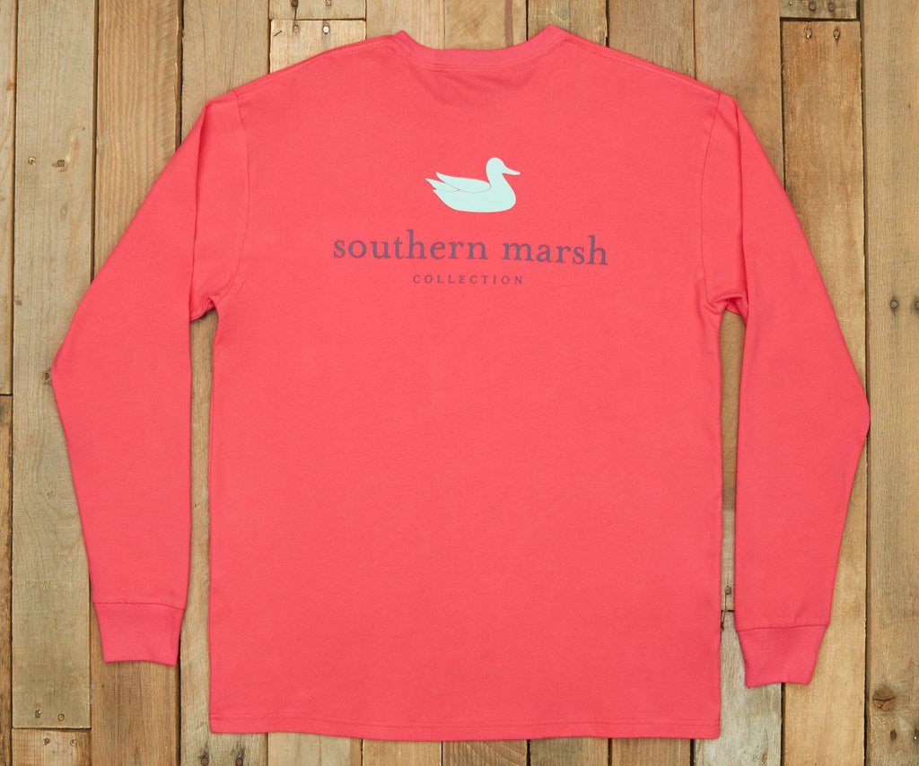 Strawberry Fizz | Authentic Vibrant Tee | Long Sleeve T-Shirt | Southern Duck Shirt