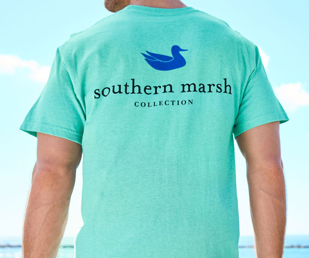 southern marsh collection authentic tee heather