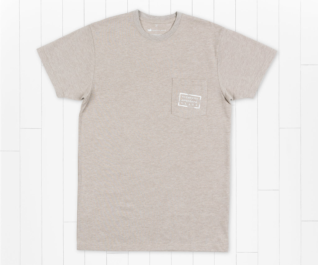 Washed Burnt Taupe | Authentic Tee | Short Sleeve T-Shirt