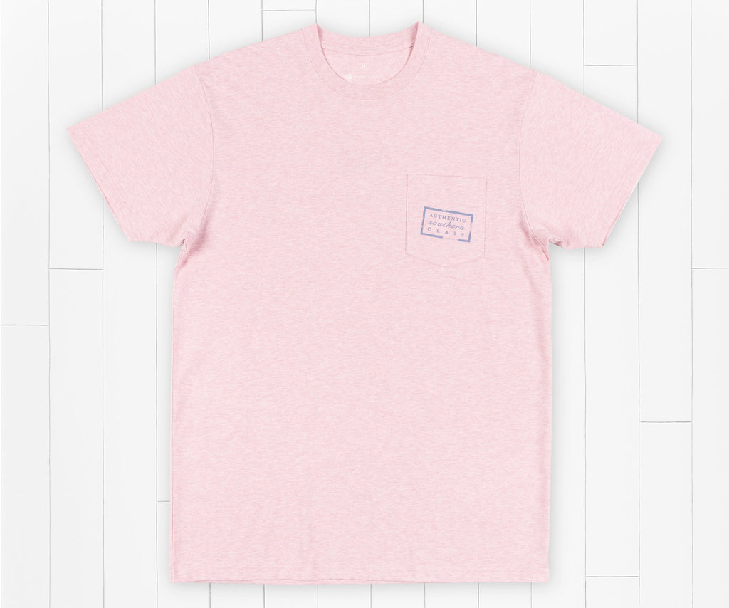 Washed Camellia | Authentic Vibrant Tee Heather | Short Sleeve | Front