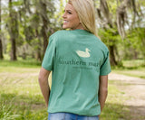 Washed Hunter Green | Authentic Tee | Short Sleeve T-Shirt