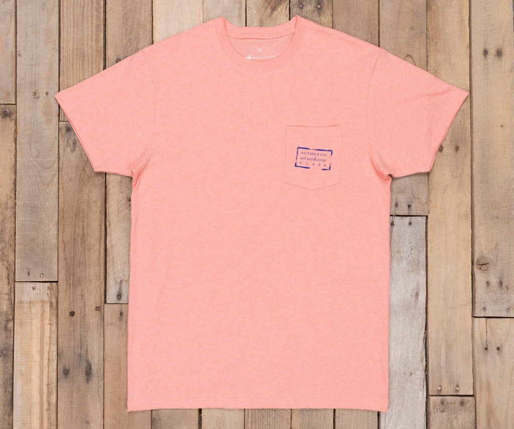 Washed Peach Heather | Authentic Vibrant Tee Heather | Short Sleeve | Front