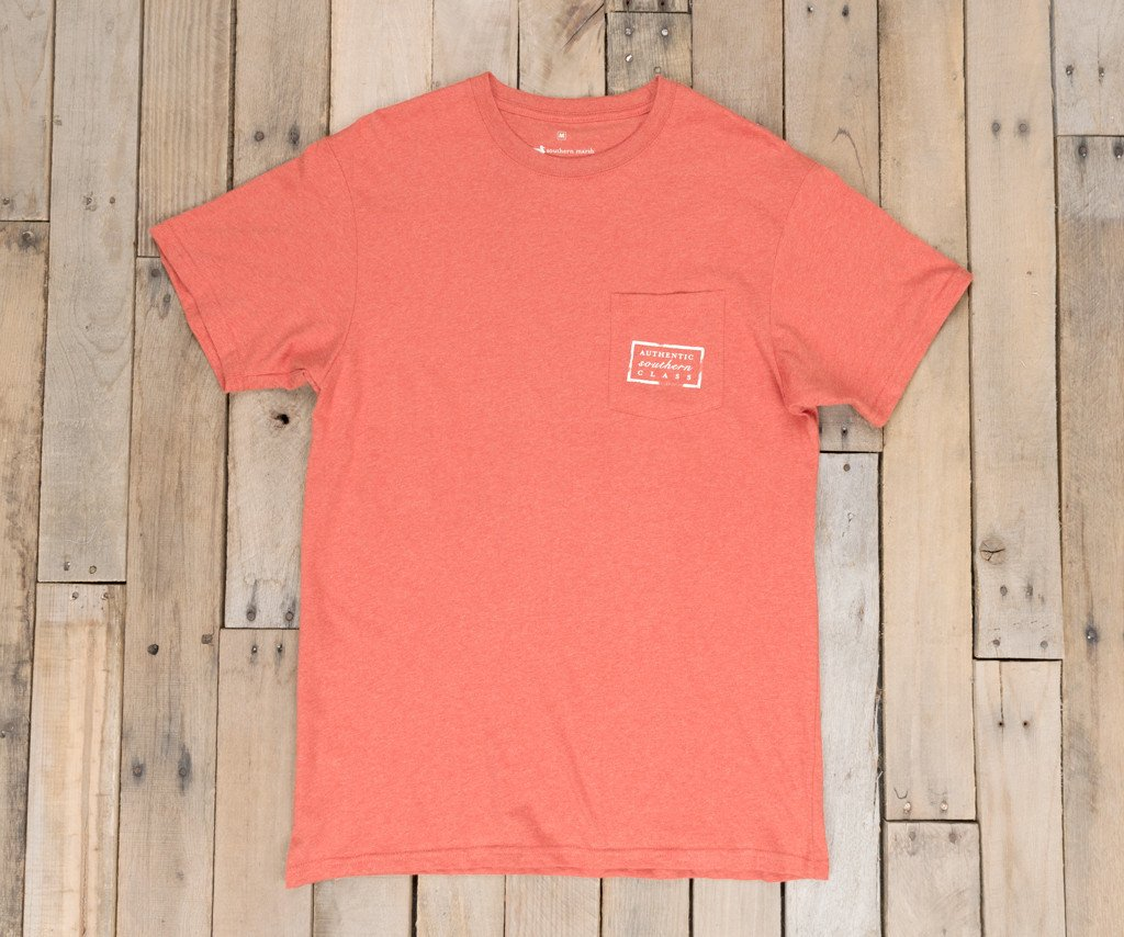 Washed Red Heather | Authentic Vibrant Tee Heather | Short Sleeve