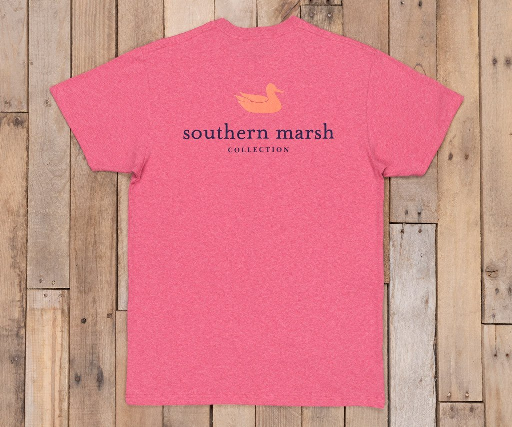Washed Strawberry Fizz Heather | Authentic Vibrant Tee Heather | Short Sleeve