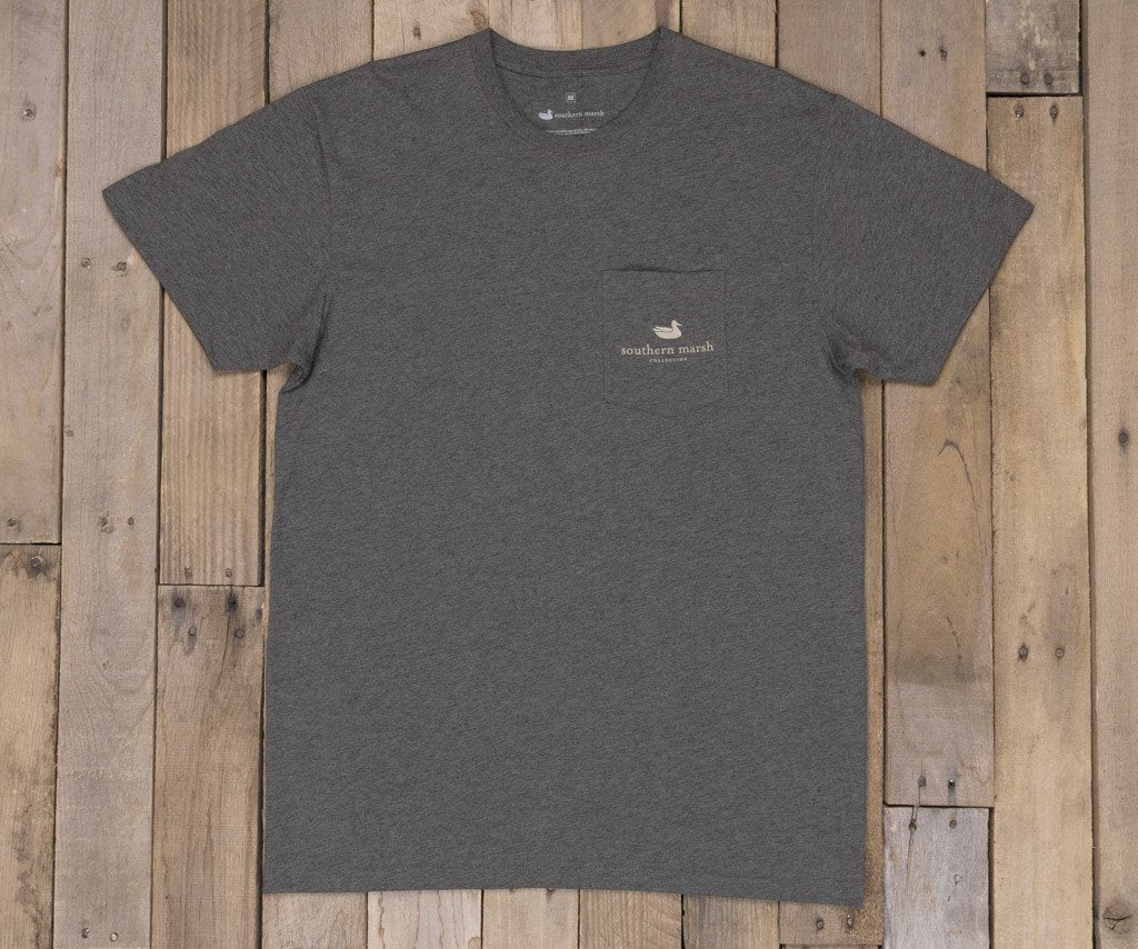 Expedition Series Flag T-Shirt | Midnight Grey