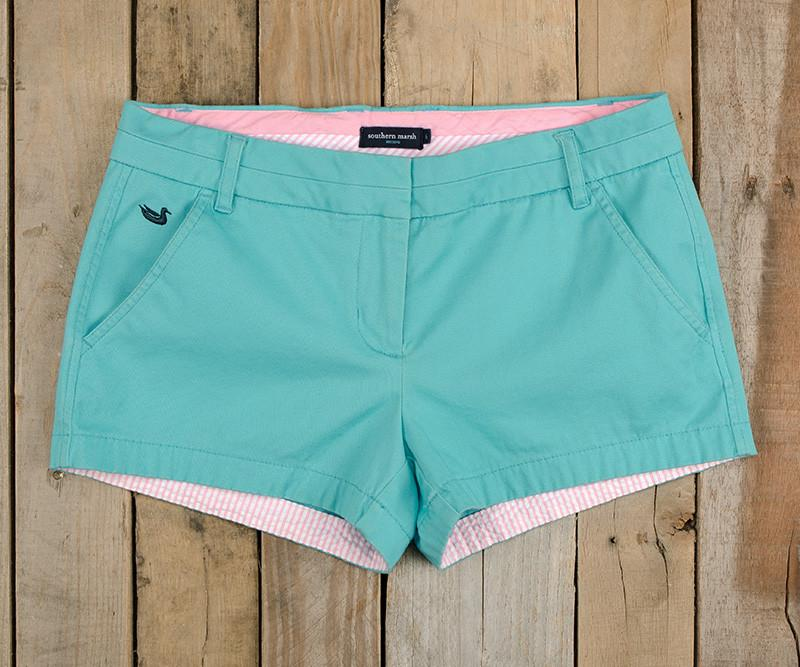 Brighton Short | Chino | Antigua Blue