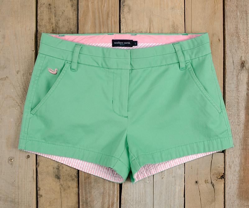 Brighton Short | Chino | Bimini Green