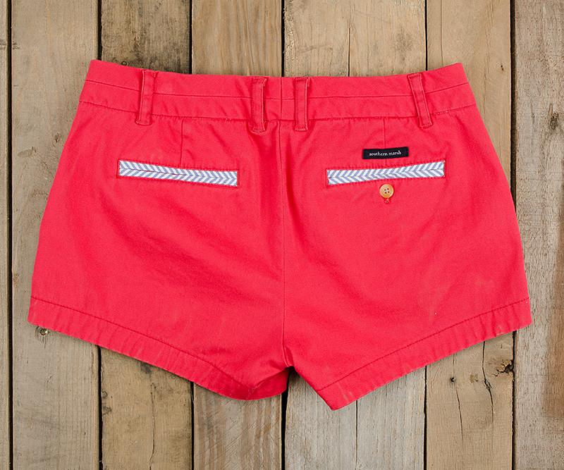 Brighton Short | Chino | Strawberry Fizz | Back