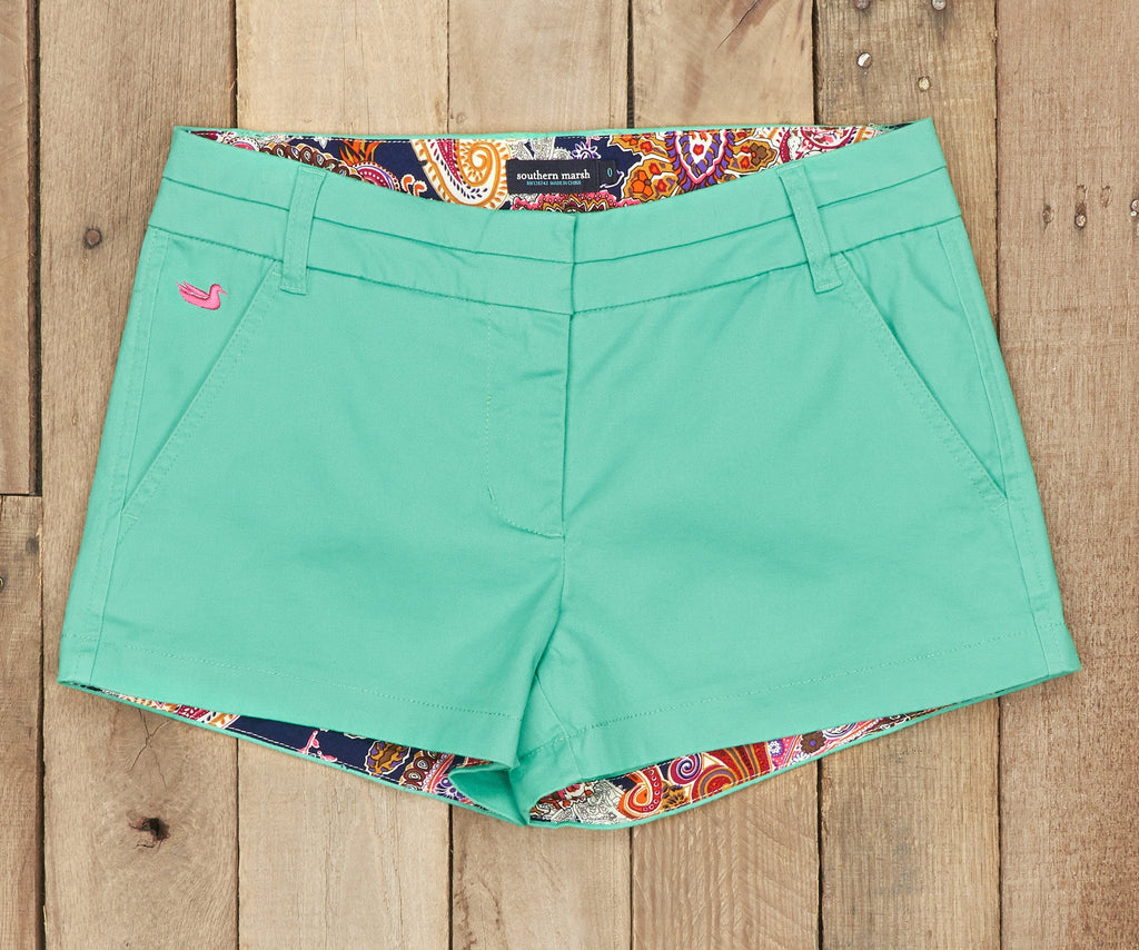 Brighton Short | Paisley | Bimini Green