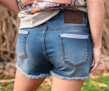Navy Jessie | Denim Jessie Short | Womens Shorts