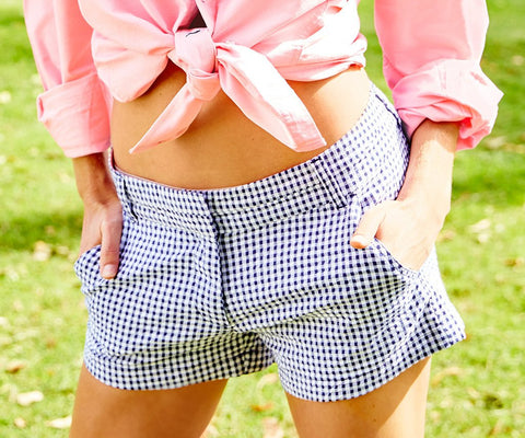 Brighton Short - Gingham