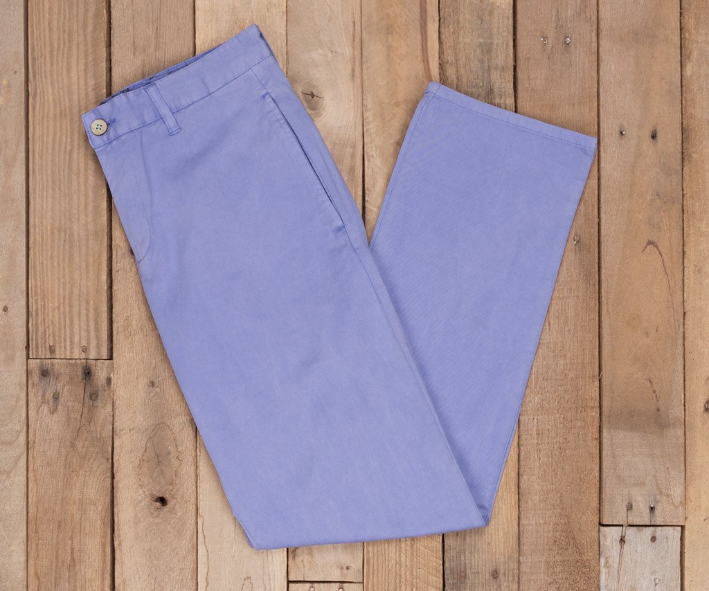 Lilac | SEAWASH™ Grayton Twill Pant | 34in. Inseam Vibrants | Front