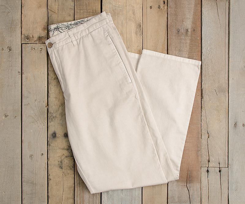 "Pebble | SEAWASH™ Grayton Twill Pant | 30"" Inseam 