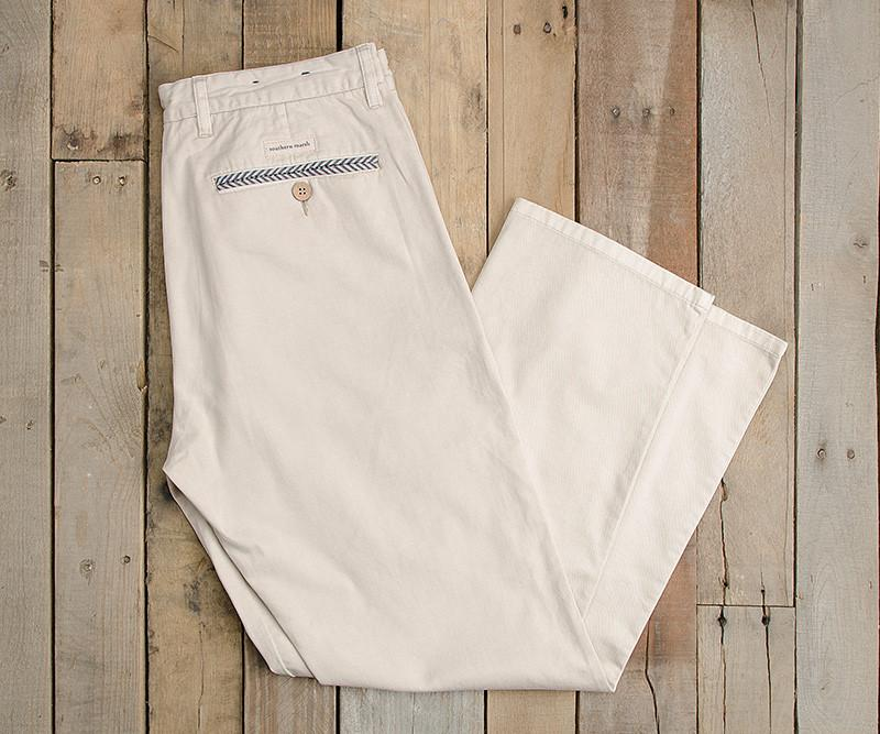 "Pebble | SEAWASH™ Grayton Twill Pant | 30"" Inseam"