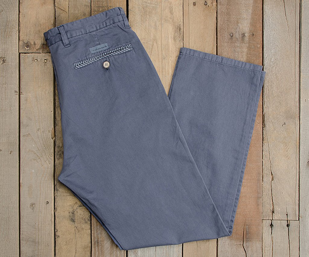 "Washed Slate | SEAWASH™ Grayton Twill Pant | 30"" Inseam"