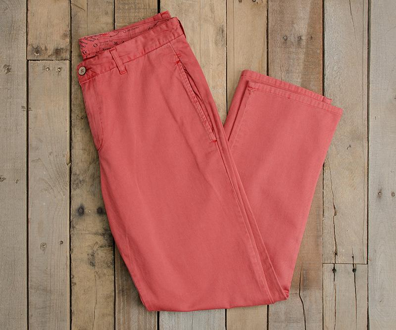 Washed Red | SEAWASH™ Grayton Twill Pant | 34in. Inseam Vibrants